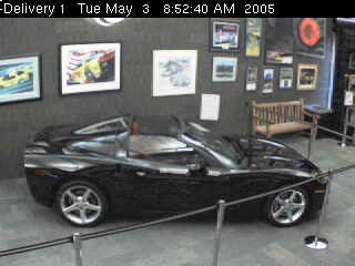My 2005 Corvette at the National Corvette Museum